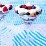 4th of July Summer Berry Trifle