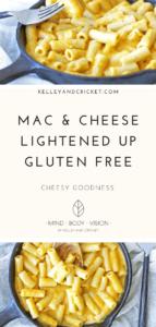 Mac&Cheese {Lightened-up/Gluten-free}