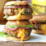 Cheddar & Bacon Stuffed Sliders {Gluten-Free, Grain-Free Option}