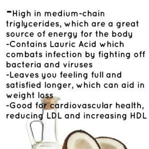 Commendable Coconut Oil