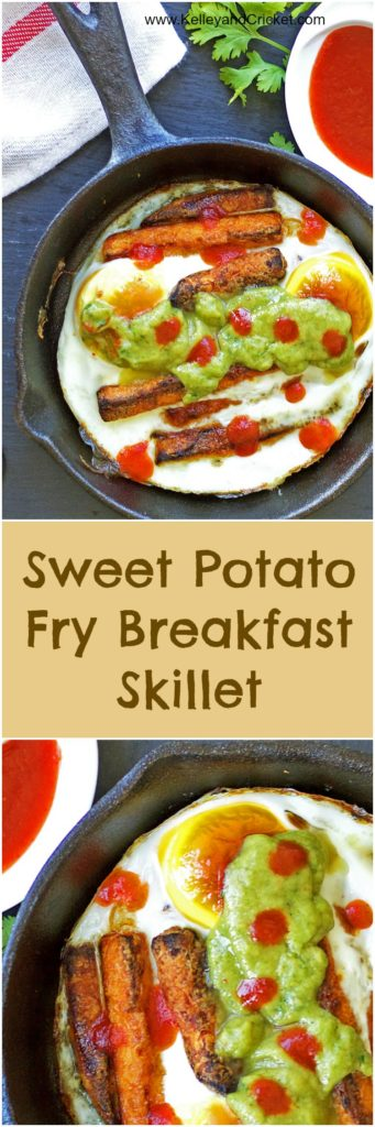 Egg and Sweet Potato Skillet Collage