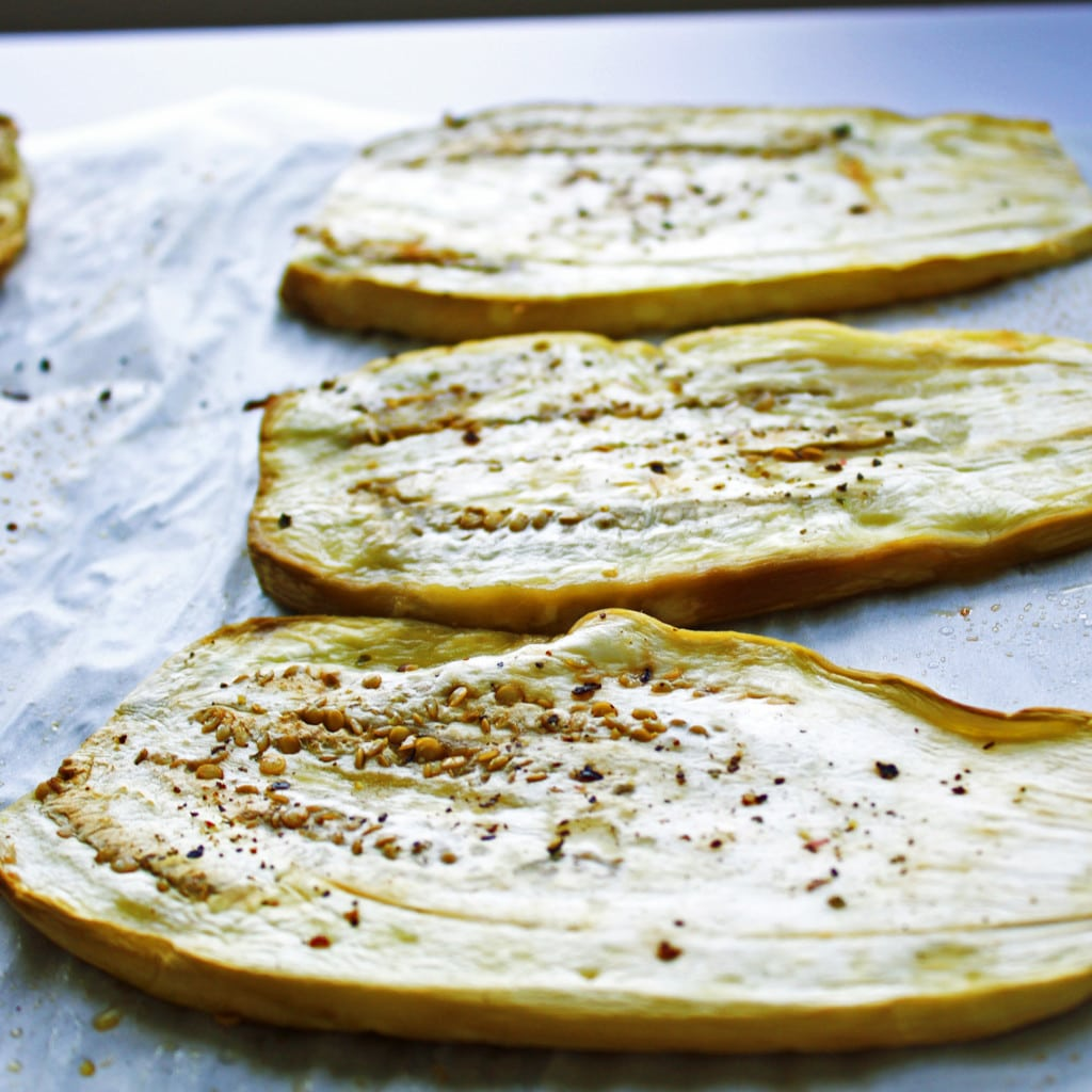 Eggplant Involtini Step1