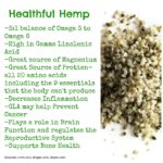 Healthful Hemp