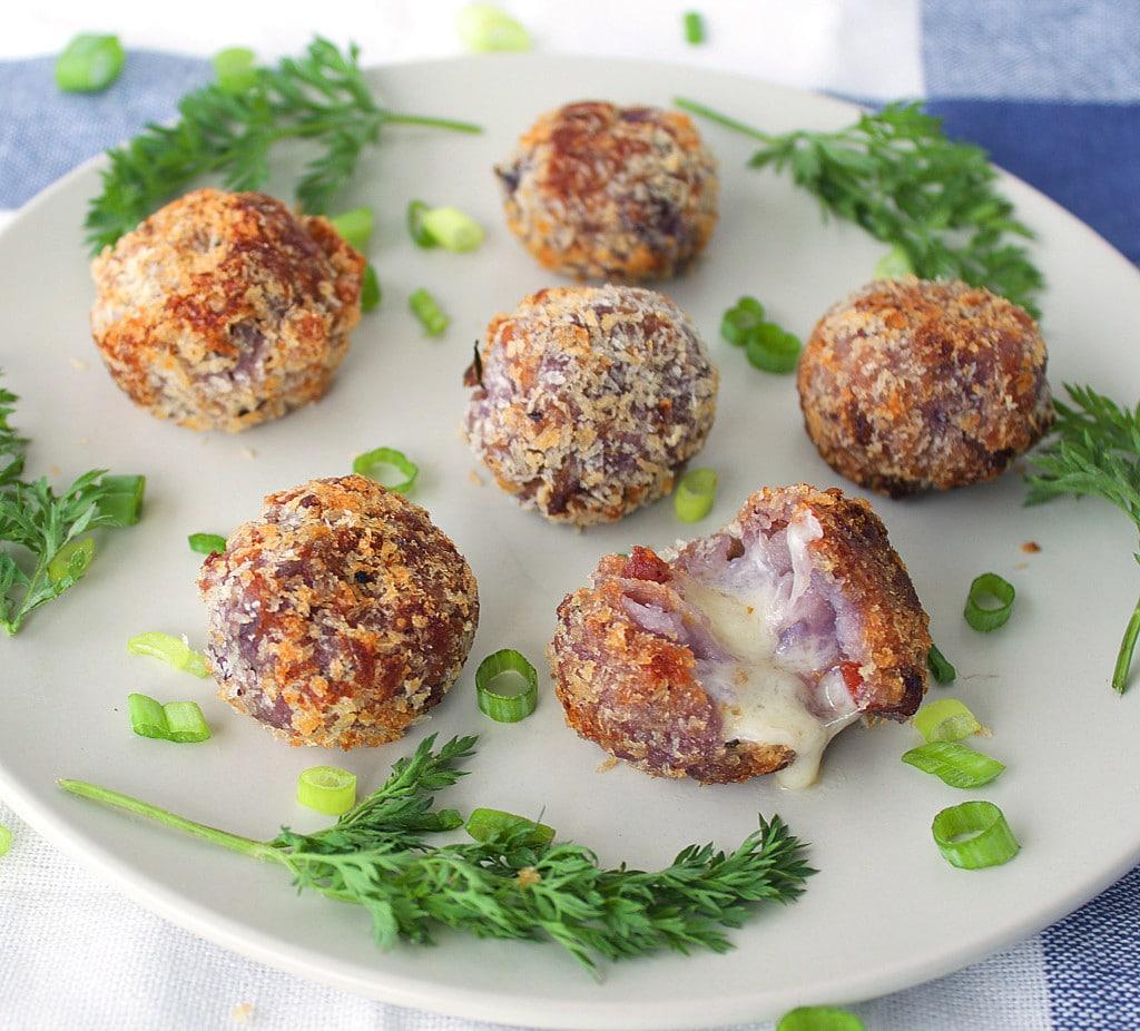 Mashed Potato Cheese Balls Best