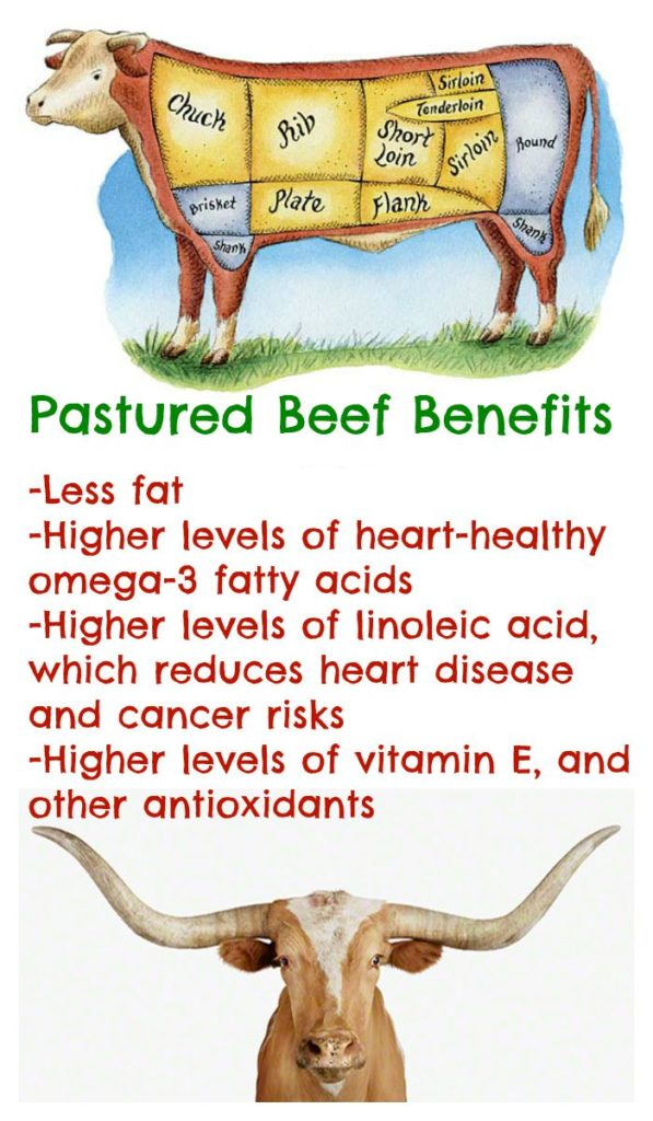 Pastured Beef Benefits Collage2