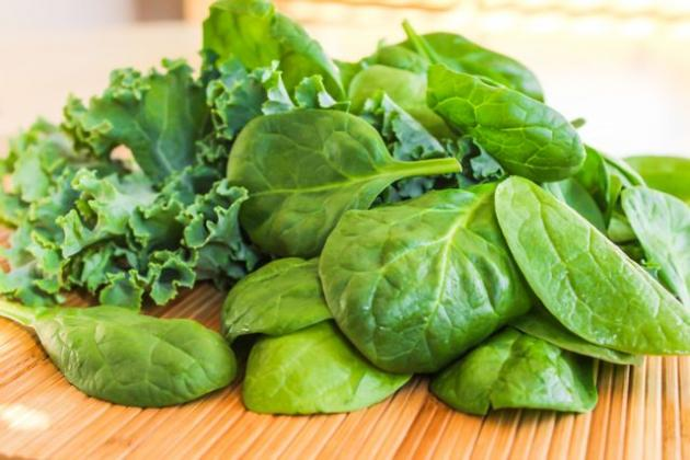 Spinach-and-Kale-leafy-veg