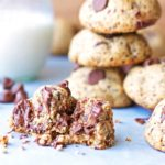 Melt In Your Mouth Chocolate Chip Cookies {Healthy, Paleo, Gluten Free, Vegan}