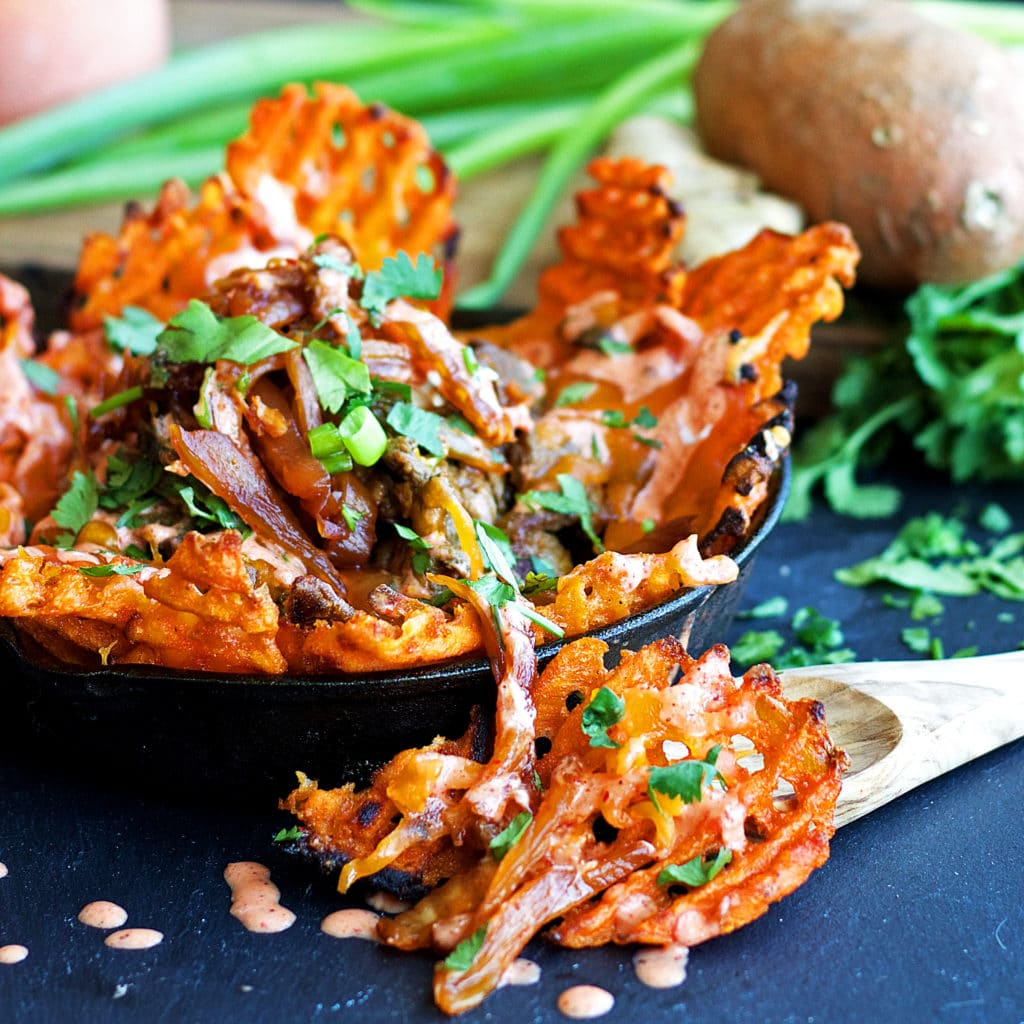 ... kimchi and chili mayo (lightened-up, gluten free and vegan