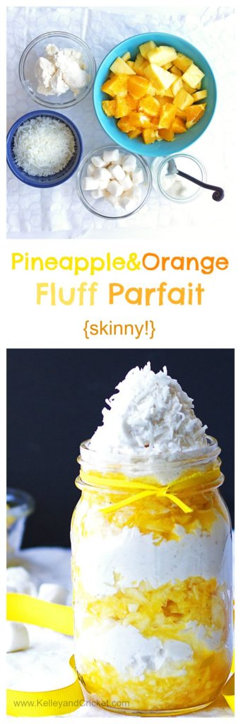 Pineapple Fluff Collage