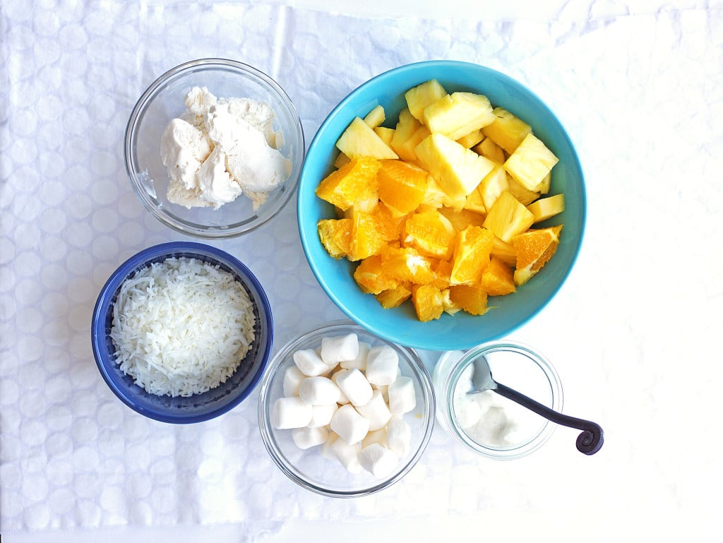 Pinnapple Ambrosia Ingredients
