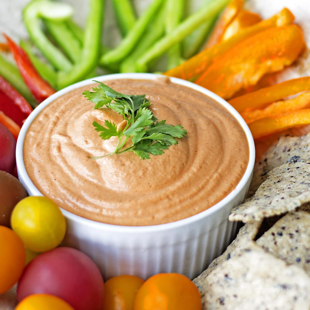 This creamy and spicy dip is so flavorful and pairs perfectly with ...