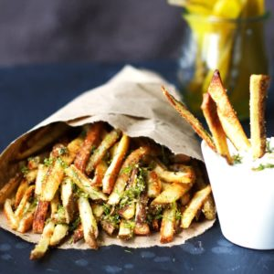 Skinny Dilly Pickle Fries