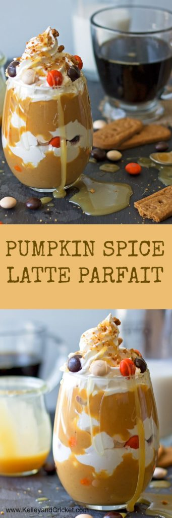 Pumpkin Spice Latte Parfait Collage