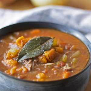 Sweet Potato and Beef Stew {Crock Pot, Grain Free, Gluten Free, Paleo}