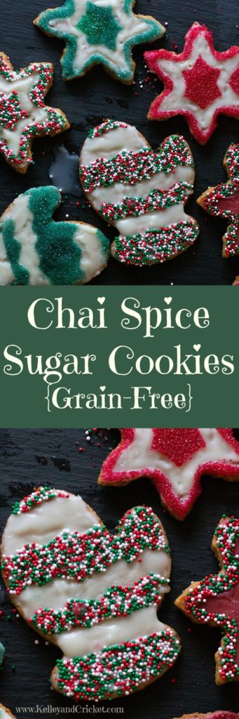 Chai Sugar Cookies Collage