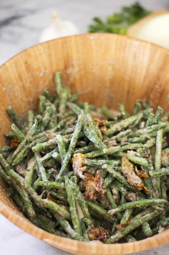 Green Bean Casserole {Grain Free, Dairy Free, Paleo} - Kelley and ...