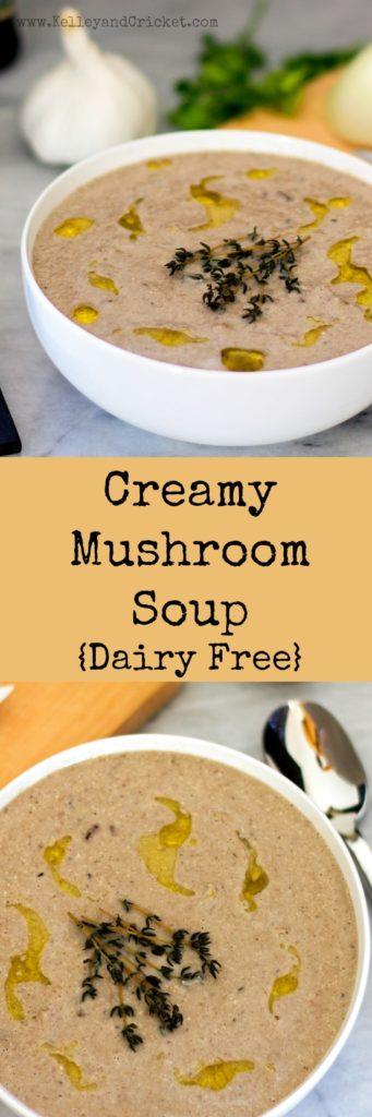 Mushroom Soup Collage