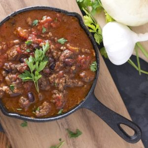 Chipotle Bison Chili {Slow Cooker, Grain-Free}
