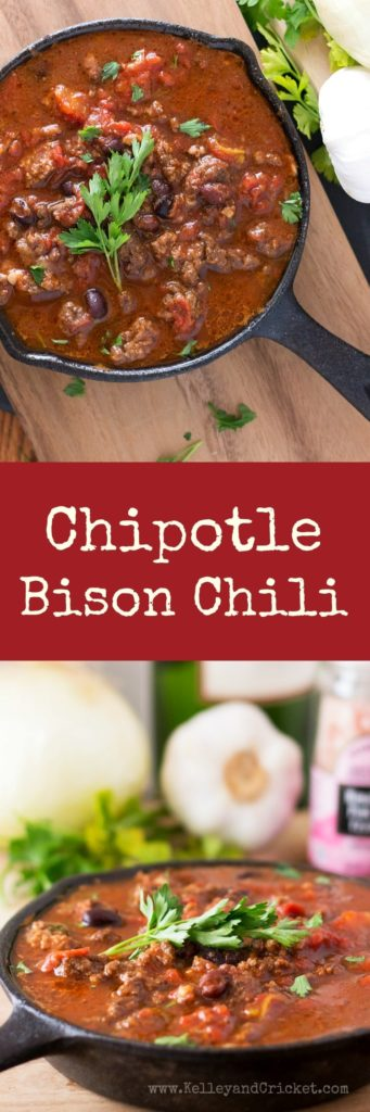 Bison Chipotle Collage