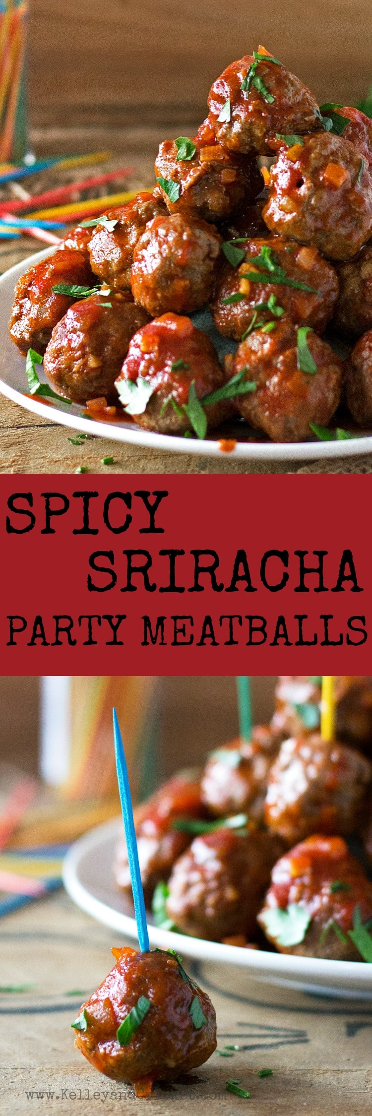 Spicy Sriracha Party Meatballs {Grain-Free, Gluten-Free, Paleo ...