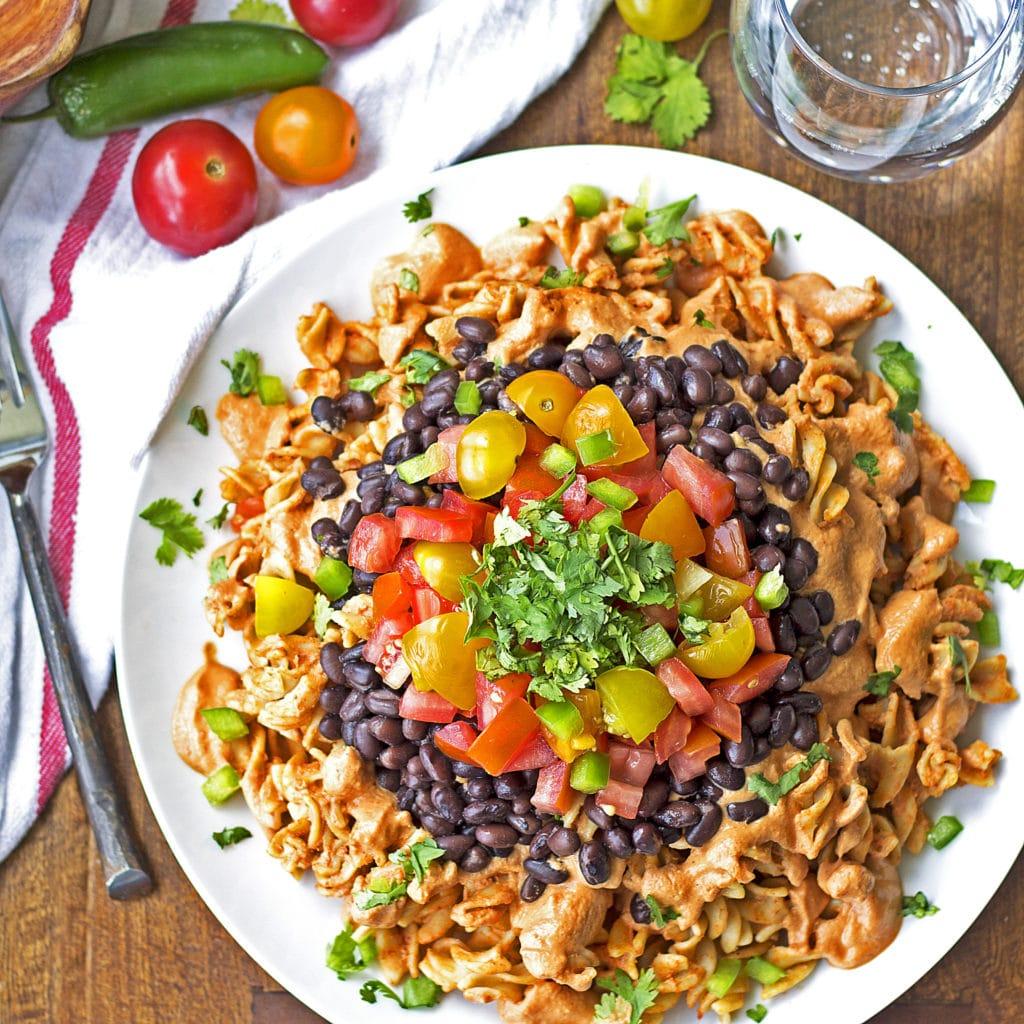 Sonora Chicken Pasta {Ruby Tuesday's Copycat, Grain-Free