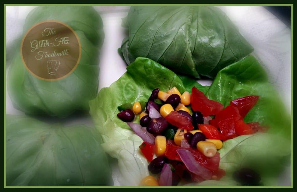 Superbowl Football-Sunday-Black-Bean-Salsa-Lettuce-Wrap2