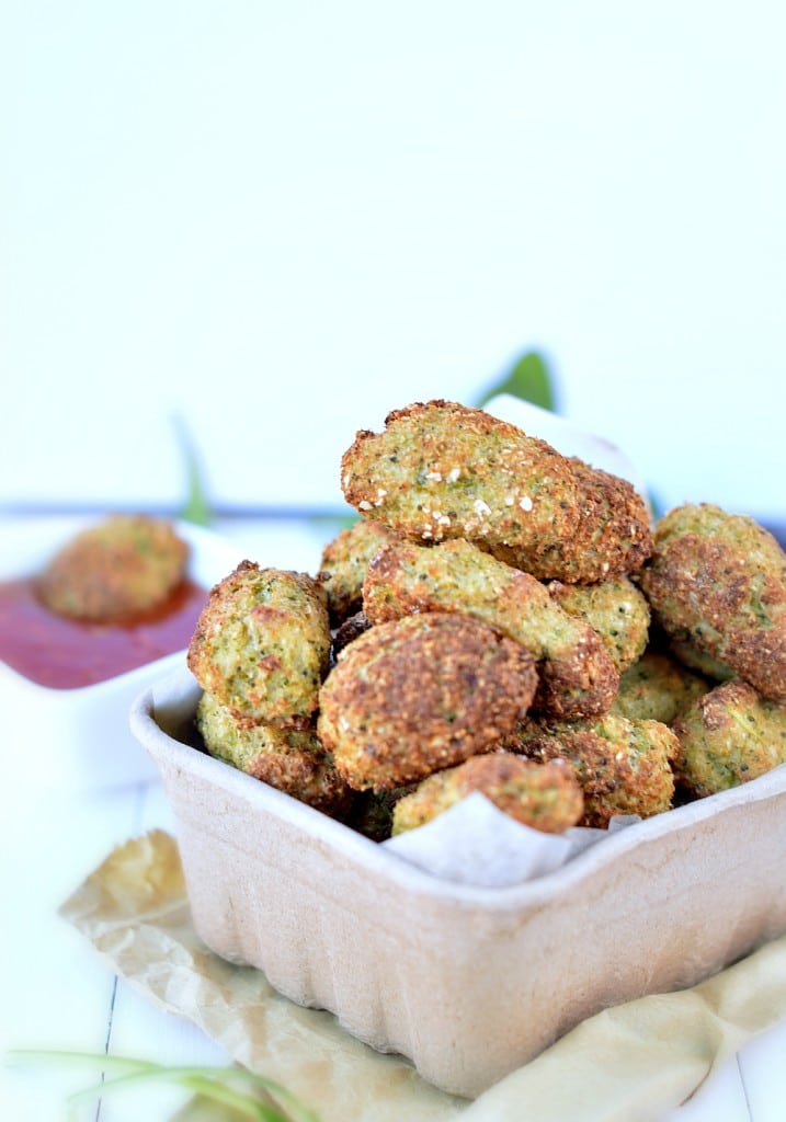 Superbowl vegetable-nugget