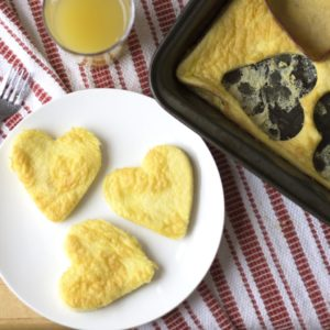 Heart-Shaped Eggs {and Egg Sandwich!}