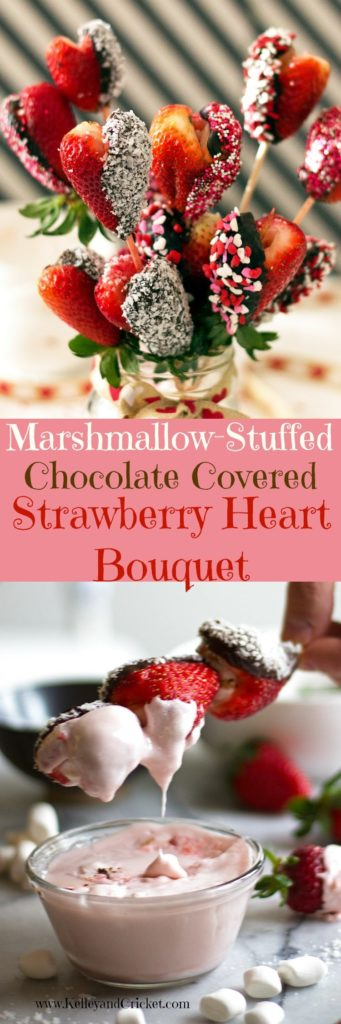 Strawberry Hearts Collage