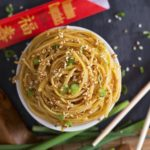 Toasted Sesame Noodles {Under 15 Minutes, Grain-Free/Paleo Option}