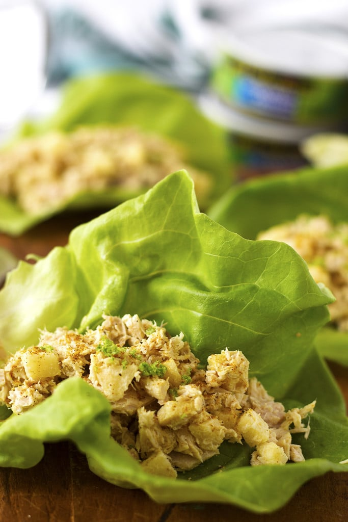 Wild Selections Curried Tuna Lettuce Wraps