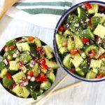Smashed Asian Cucumber Salad