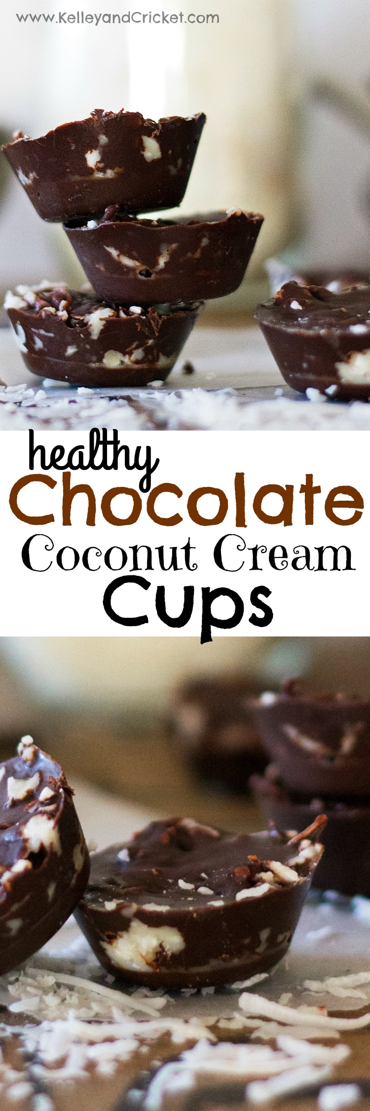 These creamy, rich, and chocolatey Coconut Cream Cups are the ultimate decandent (and secretly healthy!!) treat. Pop one of these into your mouth and the rich chocolate melts away to reveal silky, smooth, snowy, and sweet coconut cream. They are easy-peasy to make, and be sure to make extra, for they won't last long!