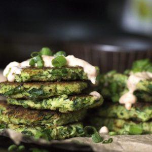 Zucchini & Kale Fritters