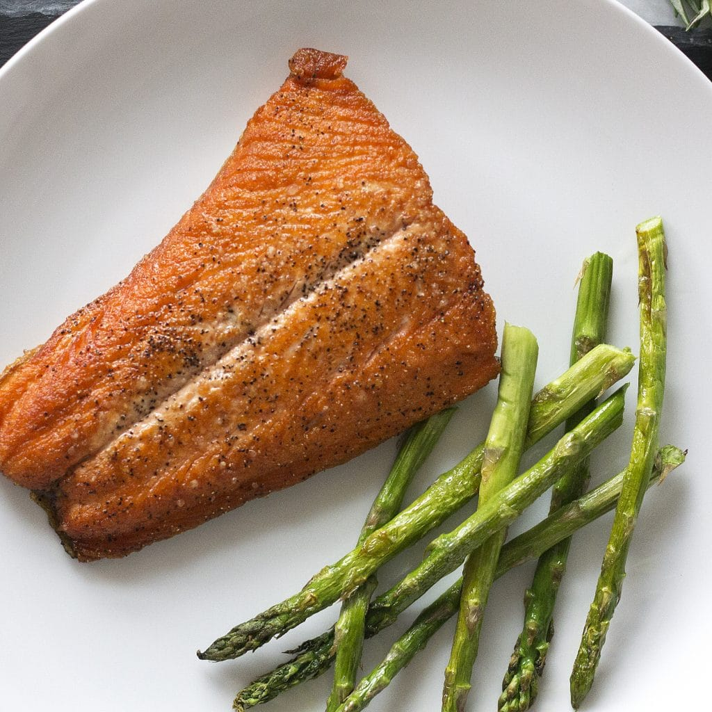 Crispy Salt & Pepper Salmon
