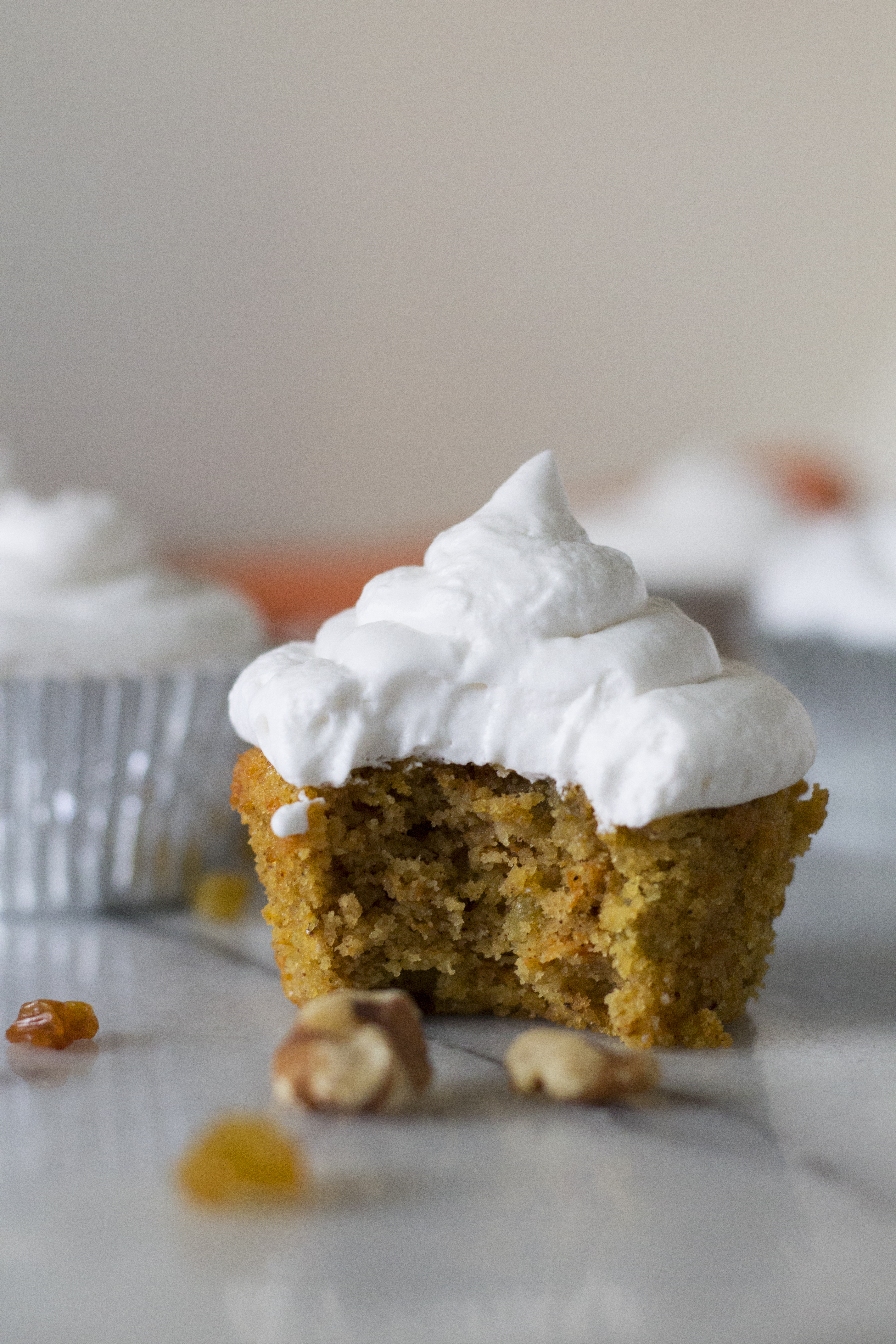 How To Make Carrot Cake Cupcakes Youtube