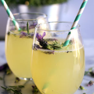 Lavender & Honey Sparkling Lemonade