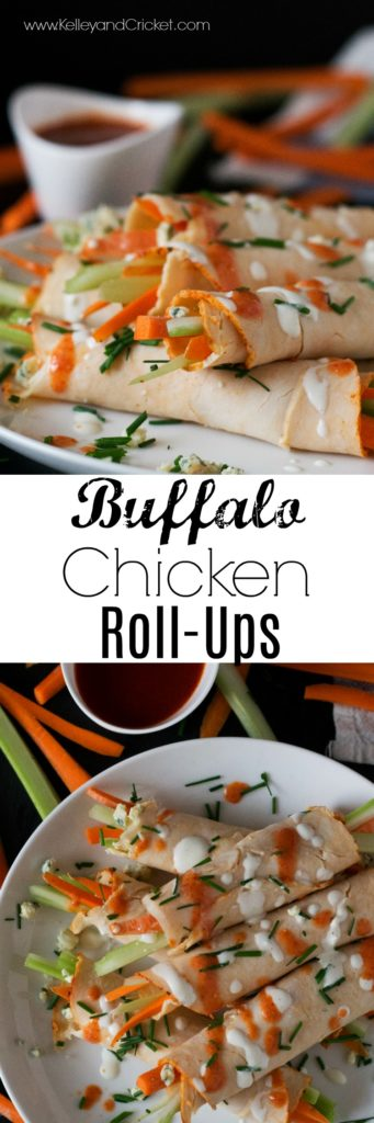 Buffalo Chicken Roll-Ups are an easy, quick, and tasty lunch with a buffalo flavor punch! You can whip these up in under 5 minutes flat. Healthy, packed with veggies, and loaded with protein these Buffalo Roll-Ups are truly the ultimate power-packed lunch!